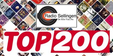 Stem op de Top 200 van Radio Sellingen